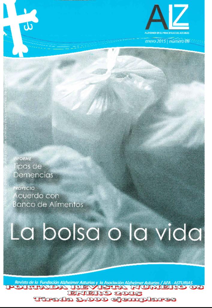 """PORTADAS REVISTA: """"ALZ-ALZHEIMER EN EL PRINCIPADO DE ASTURIAS"""""""